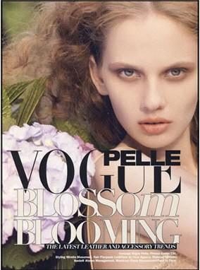 《皮革制品时样-Vogue Pelle》(意大利)
