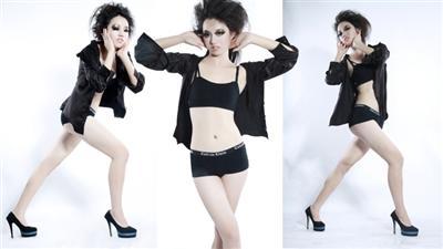 中国模特依米